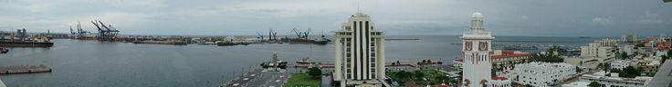 Veracruz, México desde Hotel Emporio