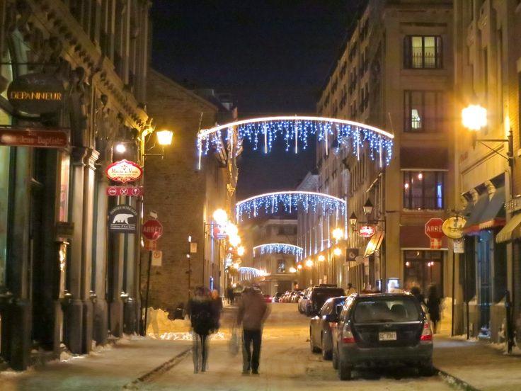 Christmas Lights Around Montreal