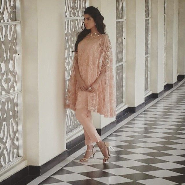 embroidered net cape for eid 2015 #bts #sneakpeek #eidcollection