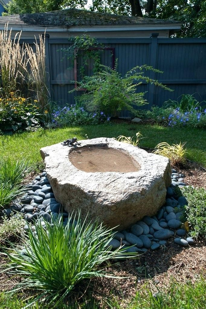 Diy Water Fountain Basin Features And Ponds In Landscape Garden Design Water Features In The Garden Diy Water Fountain Concrete Fountains