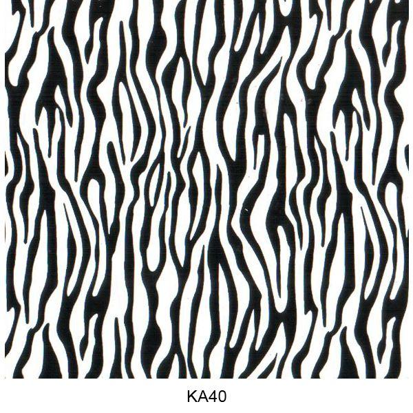 Water transfer film animal skin pattern KA40
