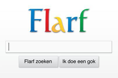 Flarf  Een flarf is een gedicht dat bestaat uit woorden of zinnen uit zoekresultaten van internet.