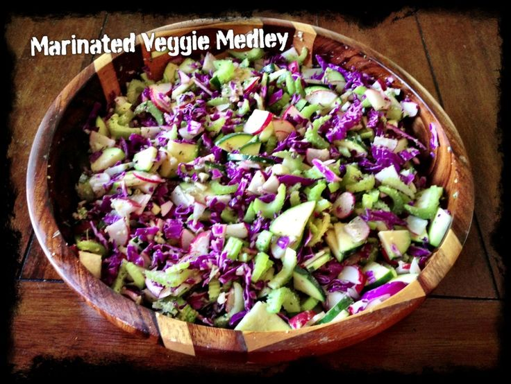 Marinated Veggie Medley Makes Life (and Cleansing) Easy