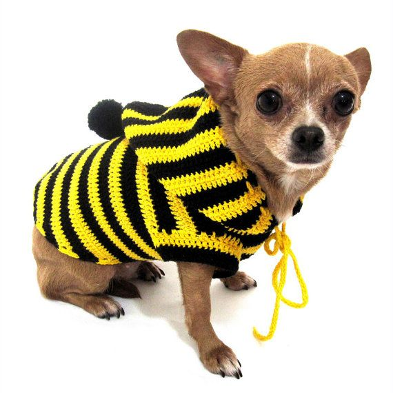 Crochet Dog Vest Free Pattern : 17 Best images about BEES on Pinterest Buzz bee, Vintage ...
