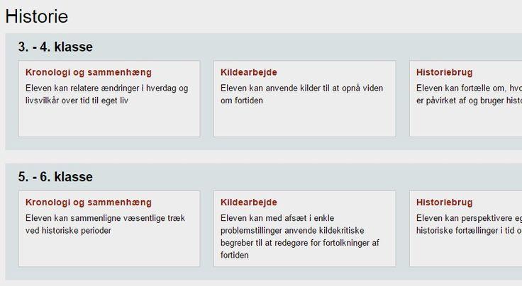 Historie | EMU Danmarks læringsportal