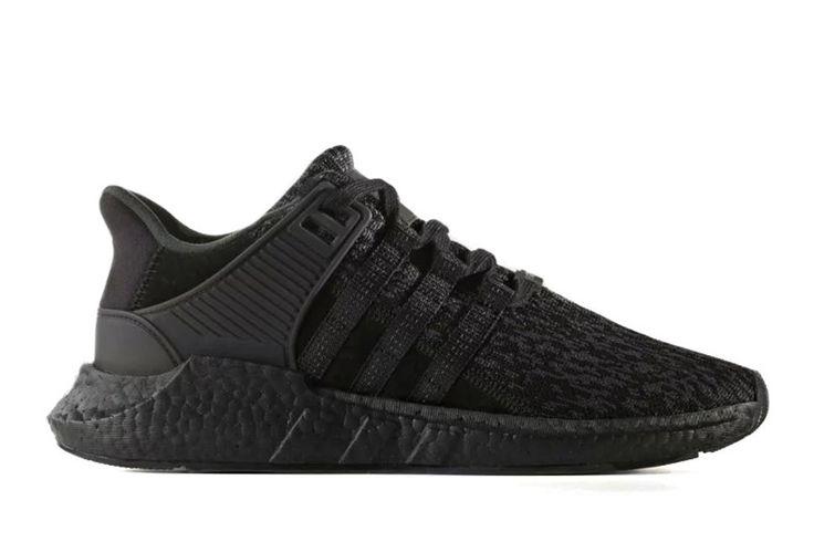 Preview: adidas EQT Support 93/17 'Triple Black' - EU Kicks: Sneaker Magazine