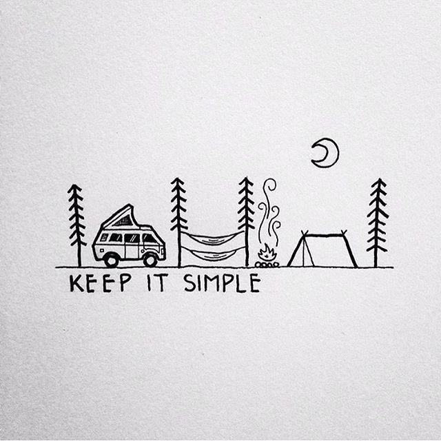 La vida sencilla... También es vida. Tú, Tur y yo.