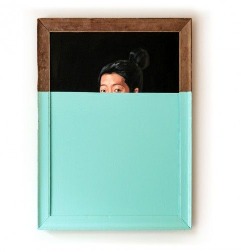 DIY a Oliver Jeffers styled dipped painting.