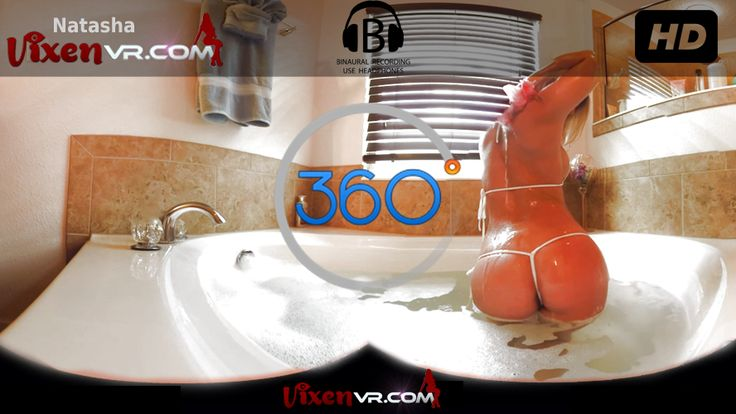 VR Girls - CAUGHT ON 360 CAMERA in SHOWER by vixen