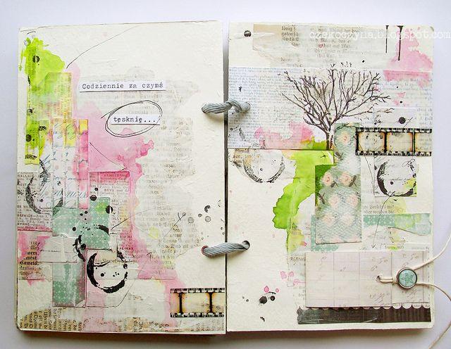 art journal by czekoczyna