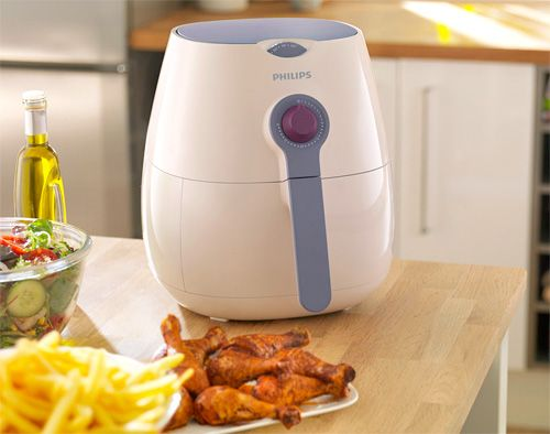 "Philips New Airfryer Fries With ""Little Or No Oil"" 