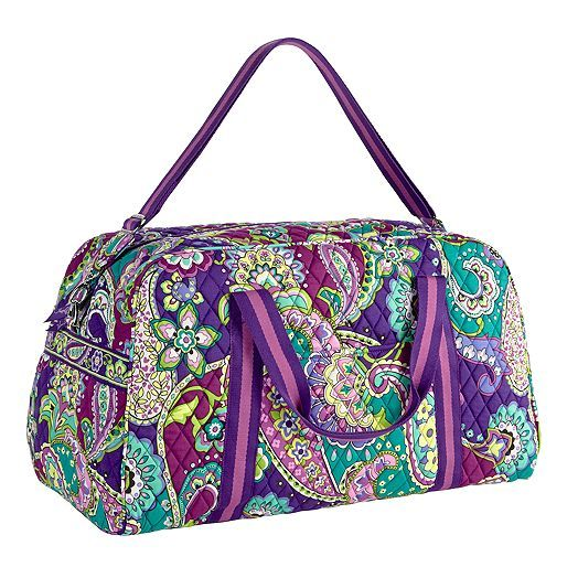 Getaway Duffel in Heather, $88 | Vera Bradley
