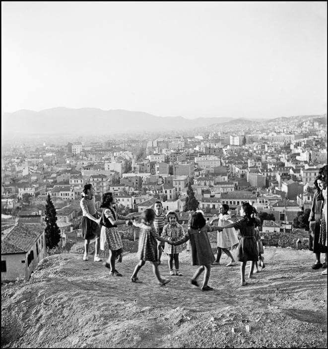 1948 ~ Children playing in Athens