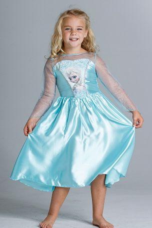 Disney Frozen Frost klänning strl 116