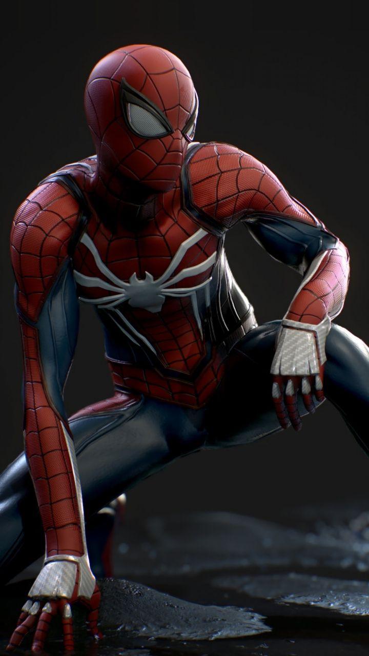 Spider Man Superhero Video Game Ps4 720x1280 Wallpaper Spiderman Marvel Spiderman Spiderman Ps4