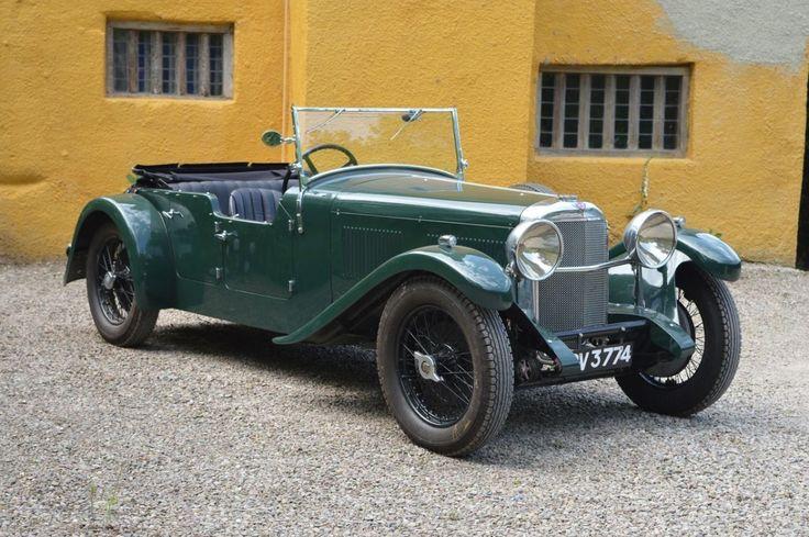 1933 Alvis Speed 20 SA Cross & Ellis Tourer