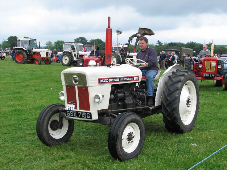 880 Ford Tractors : David brown farm tractors pictures and information