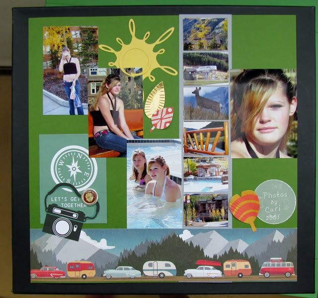 Scrappers' Cove Blog Spot: June Challenge Page by Marianne
