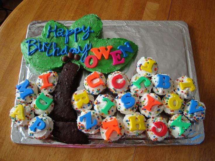 Chicka Chicka Boom Boom #birthdaycake ...my favorite cake i've ever done.