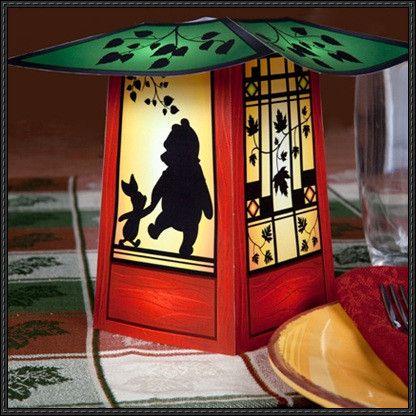 Winnie the Pooh Papercraft Lantern Free Template Download - http://www.papercraftsquare.com/winnie-pooh-papercraft-lantern-free-template-download.html