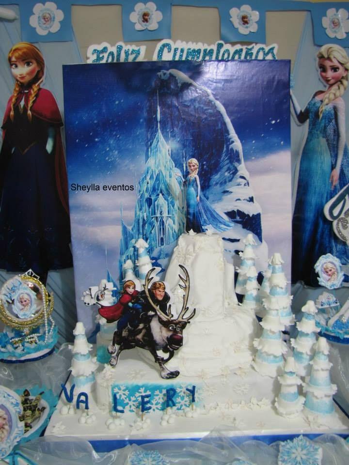 decoracin temtica de frozen una aventura congelada sheylla eventos y informes