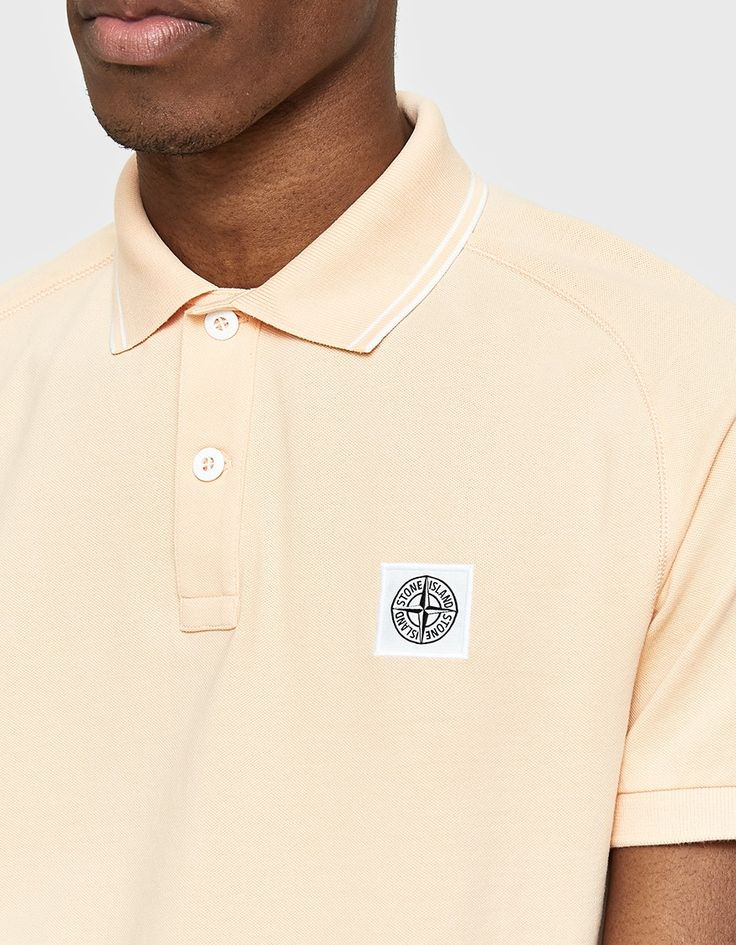 Polo shirt from Stone Island in Salmon