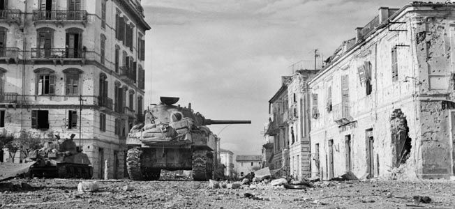 In December 1943, the First Canadian Infantry Division was ordered to capture the Italian port  town of Ortona.