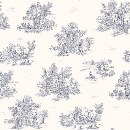 Wallpaper - faux toile