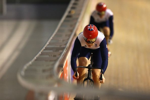 Victoria Pendleton and Jess Varnish Photo - Team GB Track Cycling Media Session