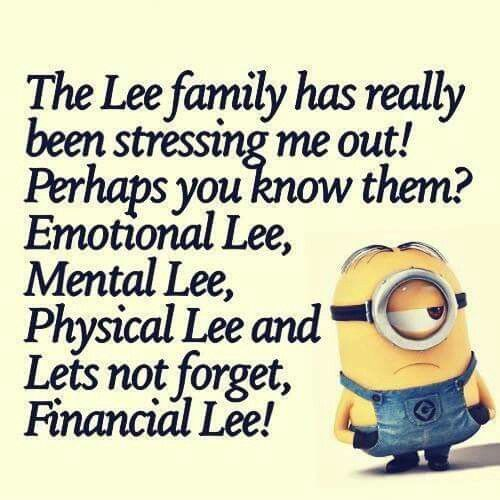 Funny Minion Quotes About Stress