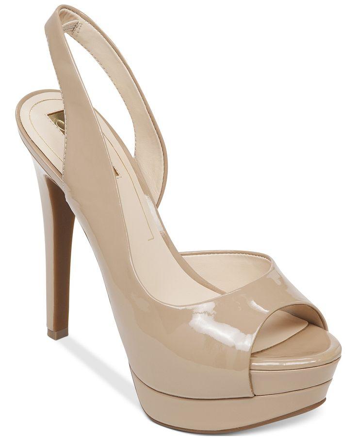 Jessica Simpson Sabella Slingback Platform Pumps - Shoes - Macy's