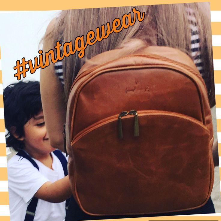 #backpack #leatherlovers #vintagestyle