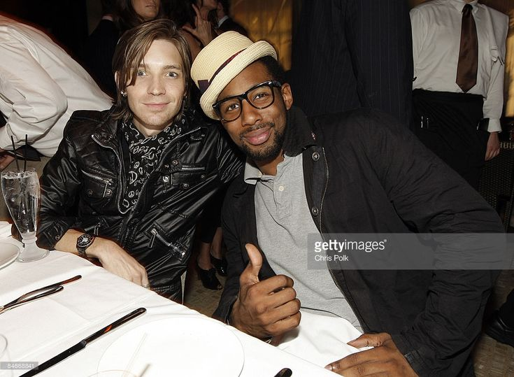 Alex Band and Twitch of 'So You Think You Can Dance' during TONYS Grand Opening Benefit for Childrens Hospital Los Angeles at TONYS in West Hollywood, CA on February 5, 2009.  (Photo by Chris Polk/FilmMagic)