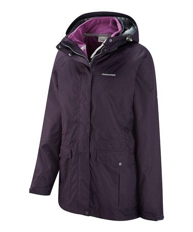 Take a look at this Dark Purple Grape Madigan Jacket Liner by Craghoppers  on #zulily