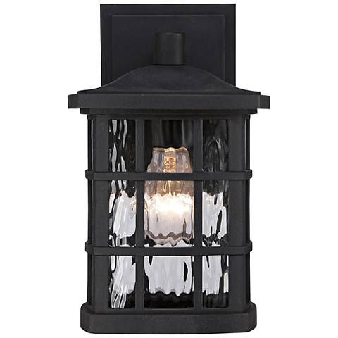 Bring a brighter look and feel to your home with this Stonington traditional Arts and Crafts small outdoor wall light.