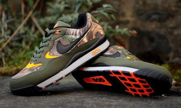 "Realtree Camouflage x Nike ACG ""Wildwood""  #Nike #NikeACG #RealtreeCamouflage"