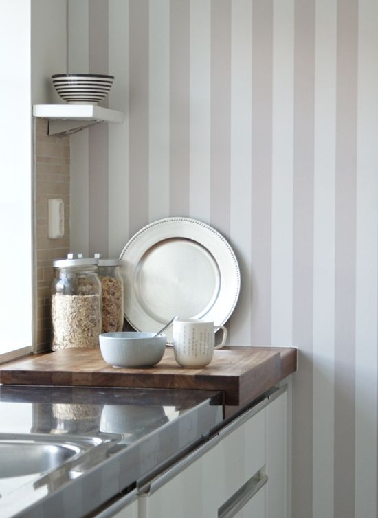 Ny tapet i vårt kök (före/efter) | Simplicity @ Spotlife
