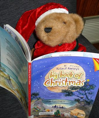 Christmas Adventures of Bing the Library Bear #2 - reading the Big Book of Christmas