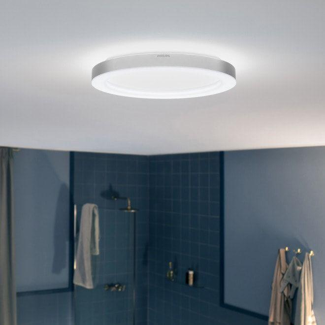 Philips Hue Adore LED Deckenleuchte Chrom Mit der LED