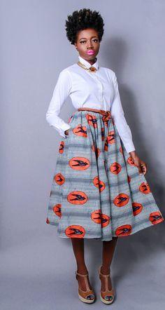 Création américaine contemporaine, inspiration des années 1950, impression africaine | https://www.etsy.com/fr/listing/158146682/nouveau-le-nadjib-impression-africaine?utm_source=Pinterest&utm_medium=PageTools&utm_campaign=Share