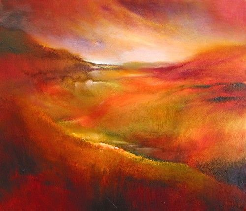 "Annette Schmucker, ""Es grüßen Berg und Tal"" With a click on ""Send as art card"", you can send this art work to your friends - for free!"