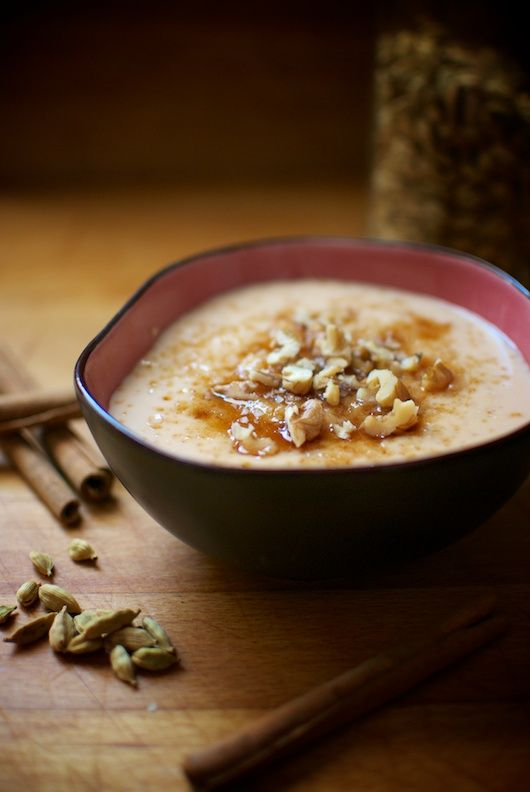 kheer dulce de arroz basmati // sweet bastmati rice kheer