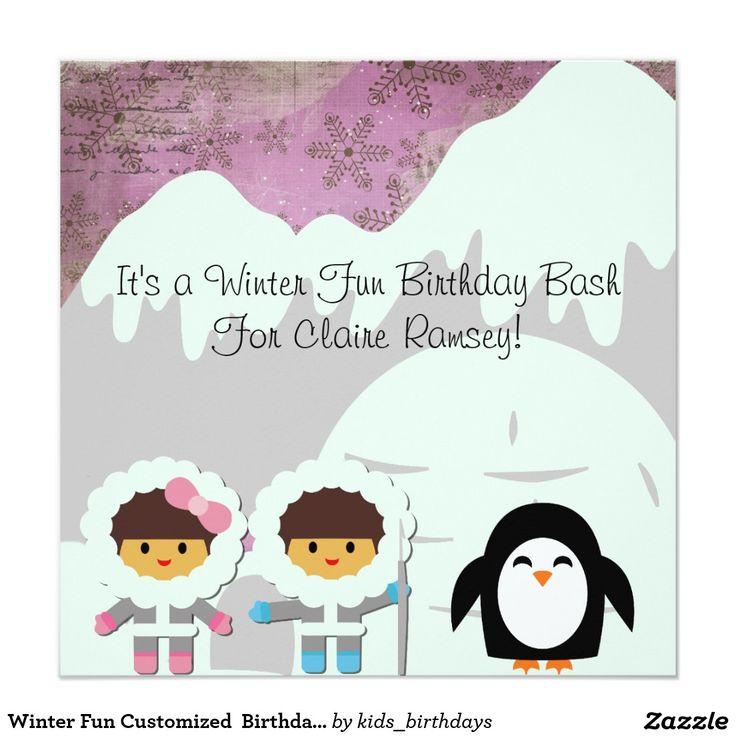 481 best kids birthday invitations images on pinterest | kid, Birthday invitations