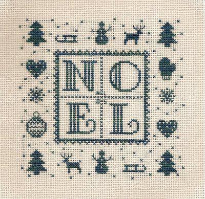 Christmas cross stitch. Detallitos de alrededor.