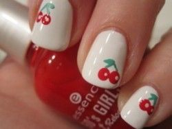Musing Mends The Soul: Fruity nail art