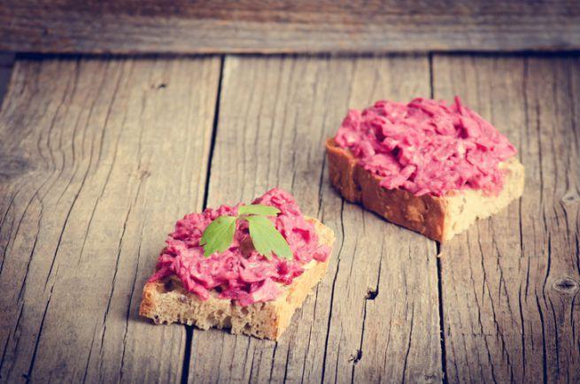 Come Preparare La Crema Di Radicchio Per Crostini Idee Alimentari Cibo Crostini