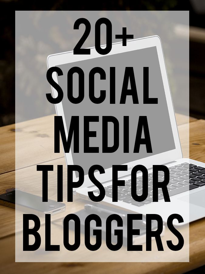 20+ Social Media Tips for Bloggers - A Dose of Paige