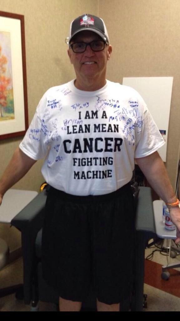 http://fan4racing.com/2015/04/14/inspired-fans-urge-steve-byrnes-to-keep-fighting/ Photo - Stewart Haas Racing forum