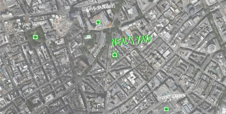 neal's yard map