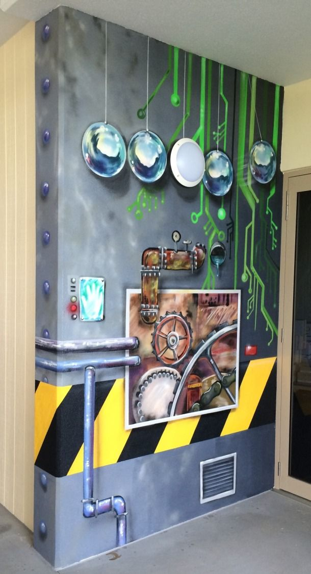 Emmanuel College - Blog - Aerograffix - Quality artwork handcrafted by artist Sauce  #goldcoast #mural #schoolmural #aerosolart
